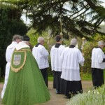 Rogation Sunday Procession