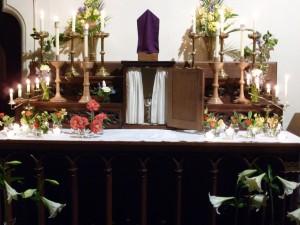 Maundy Thursday Altar of Repose