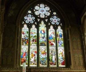 East Window with Patriarchs and Prophets
