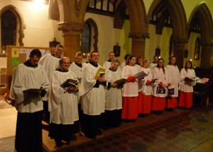 Advent Procession 2014