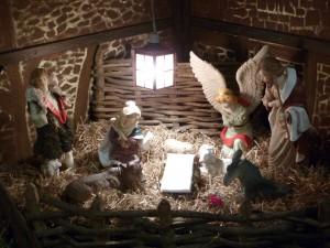 Christmas Crib waiting