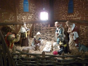 Magi at the Manger