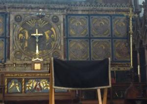 Canon John Thurmer's Funeral