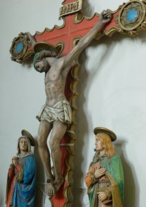 Rood - Mary & John at the Cross