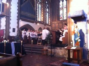 Funeral of Canon John Thurmer