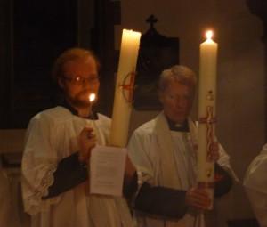 Easter Vigil - Paschal Candles