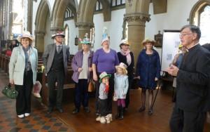 Fr David Walford judges the Bonnets