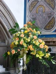 Golden Wedding Flowers