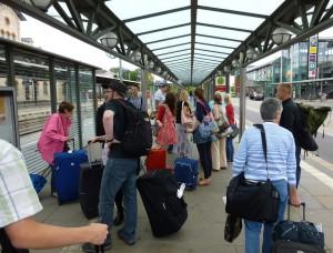 Arrival in Wolfenbüttel