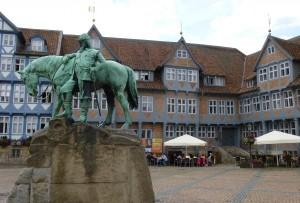 Relaxing in Wolfenbüttel