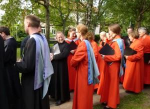 Choir at Groß Denkte