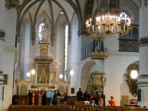 Hauptkirche interior