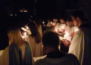 Advent Procession 2015