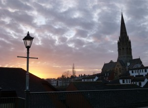 Mt Dinham January Sunset